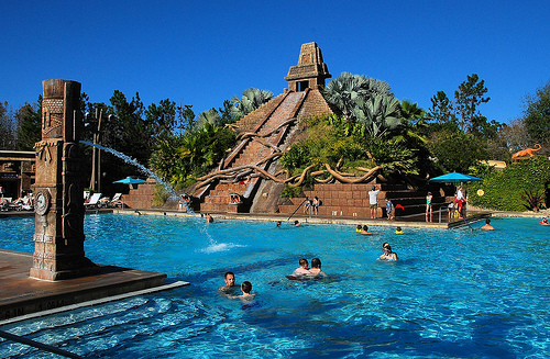 Disney Corando Springs Pool