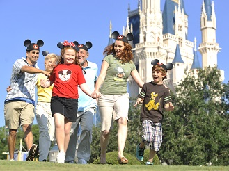 MK-Family-in-Front-of-Cinderella-Castle-MFA