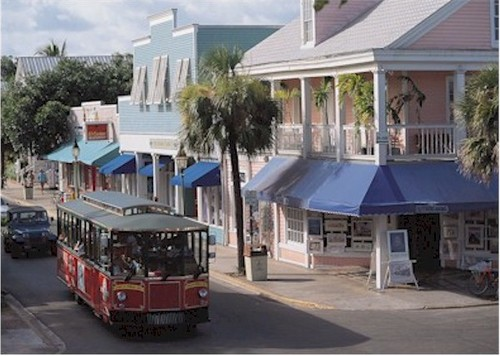 KeyWest DuvalTrolleys