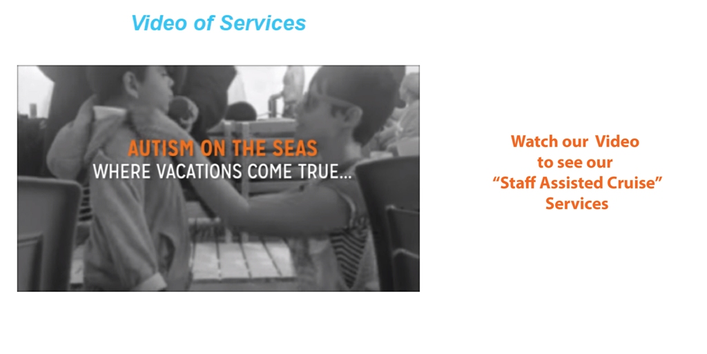 Staff Assisted Cruises - Services Video